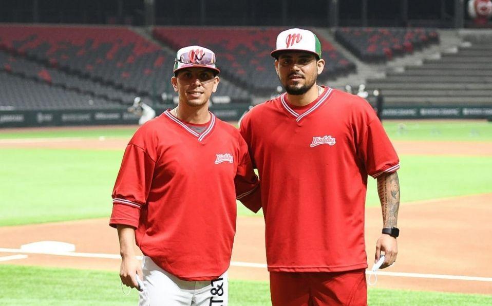 Ambos peloteros jugaron con el equipo de Ciudad de México. (Foto: @DiablosRojosMX)