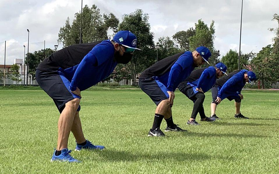 Los Charros de Jalisco arrancaron su pretemporada 2021-2022 en el Polideportivo Ávila Camacho. Foto: @Charrosbeisbol