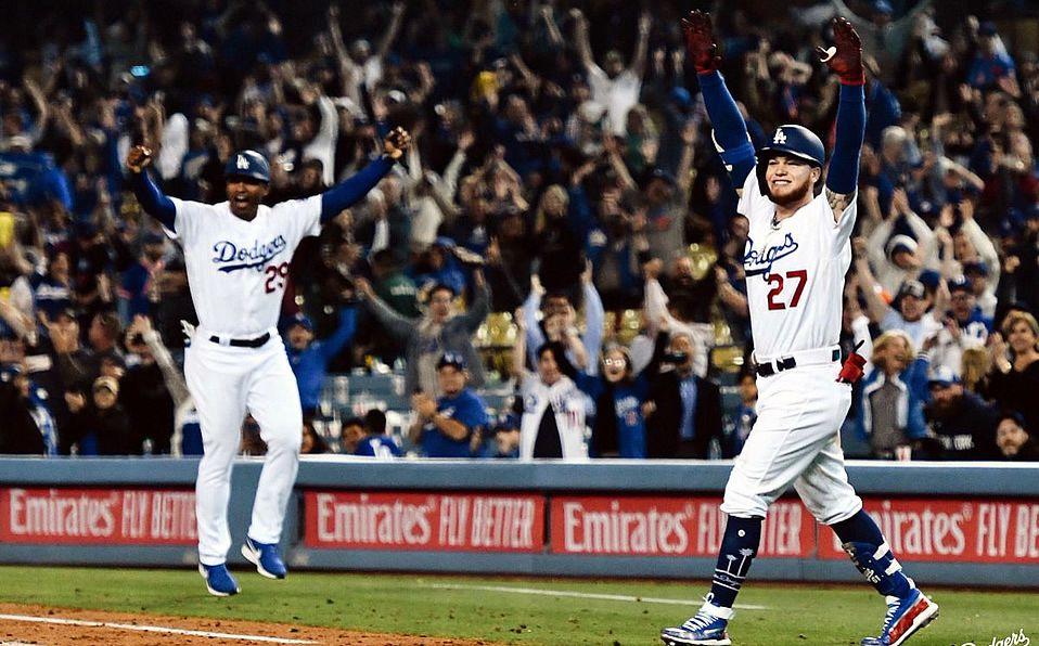 Alex Verdugo produce la carrera del triunfo de los Dodgers