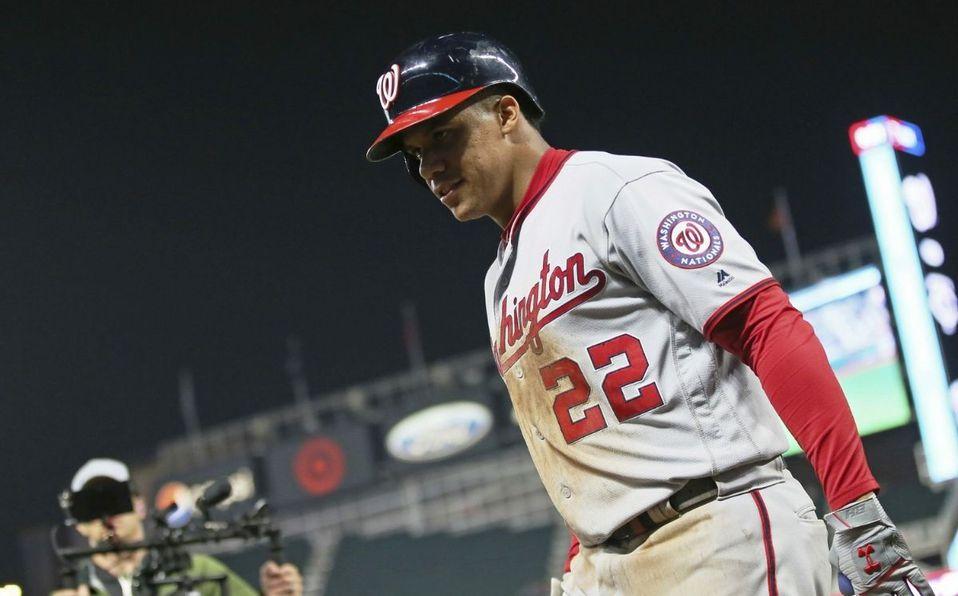 Juan Soto fue elegido por primera vez al All-Star Game de MLB este 2021. (AP)