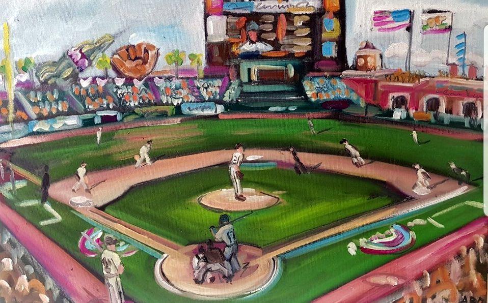El béisbol es uno de los deportes más importantes en países de América Latina y EEUU. (Foto: @andybisanartist)