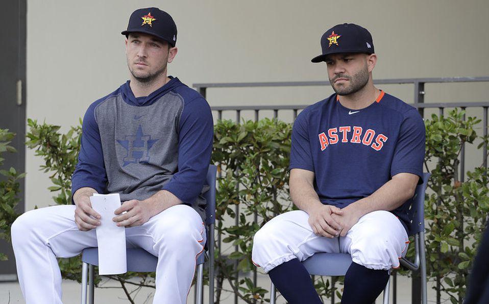 Los Astros piden perdón... por el robo de señales