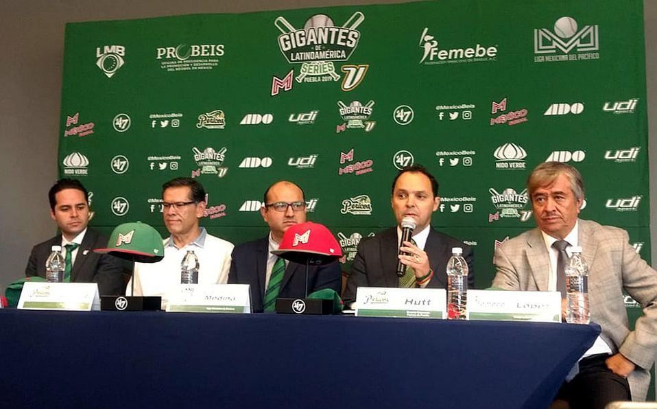 Presentación de juegos de preparación de selección mexicana de beisbol