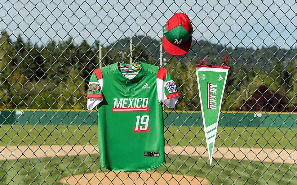 El jersey del equipo representante de México en la Serie Mundial de Ligas Pequeñas. Foto: Adidas