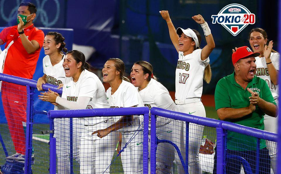 La Selección Mexicana de Softbol jugará por la medalla de bronce frente a Canadá. Foto: @WBSC