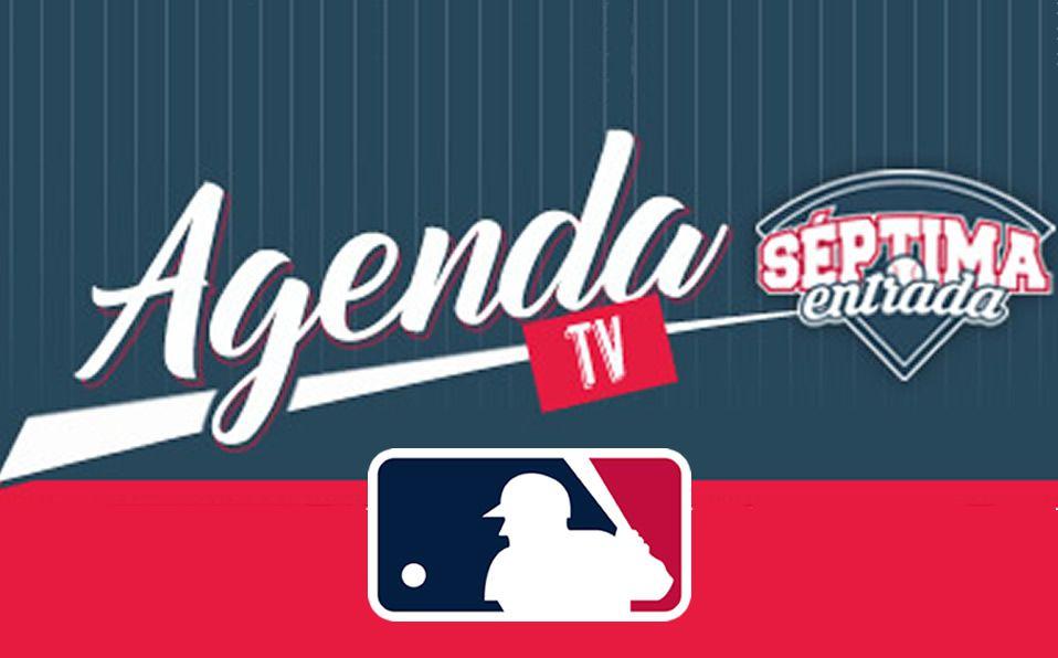 MLB En Vivo: La agenda semanal de las Grandes Ligas en TV