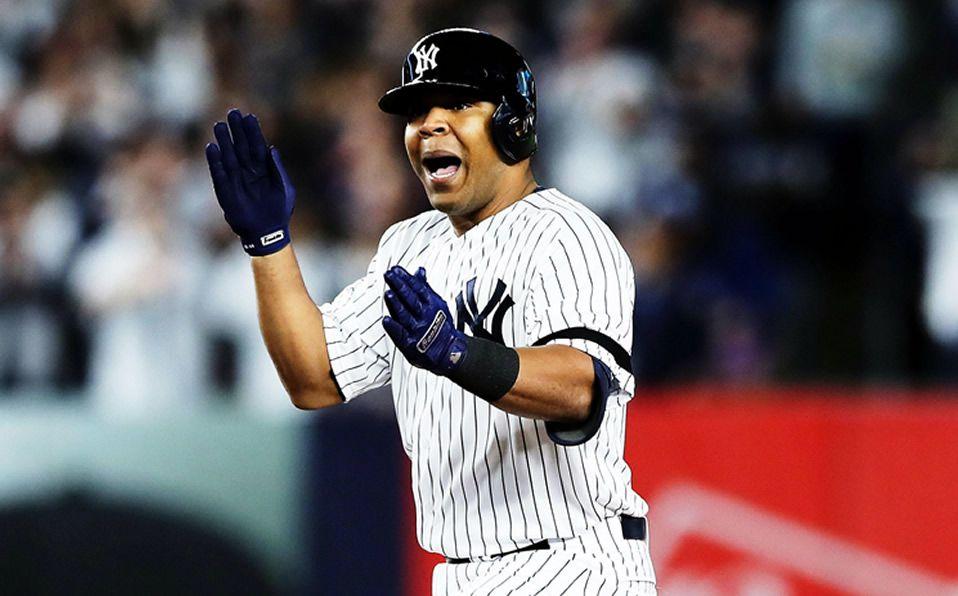Encarnación jugó media temporada con los Yankees en 2019. (Foto: @MLB)