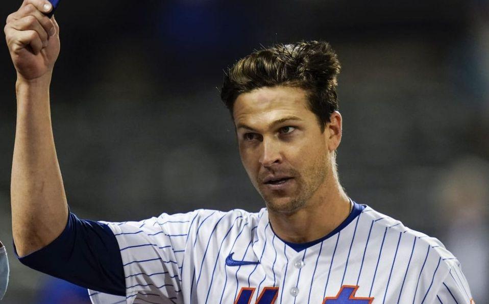 Jacob deGrom es el pitcher con mejor efectividad en lo que va de temporada con 0.68. (MLB.com)