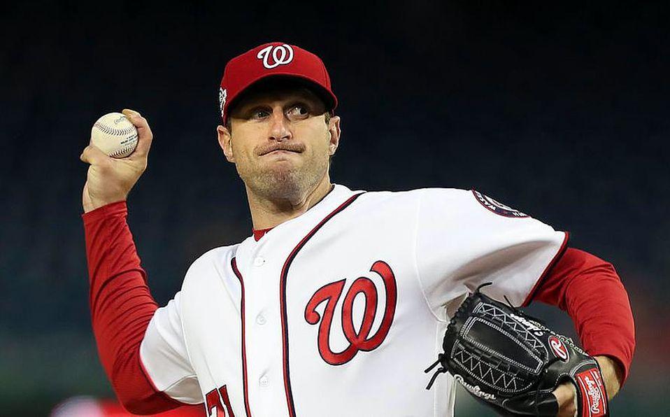 Max Scherzer es uno de los tres pitchers que tiene 20 ponches en un juego de nueve entradas
