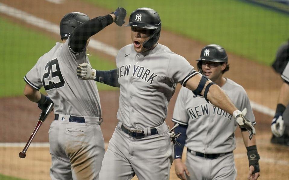 Yankees inició con el pie derecho tras perder 8 de 10 juegos previos contra Rays. (Foto: MLB.com)