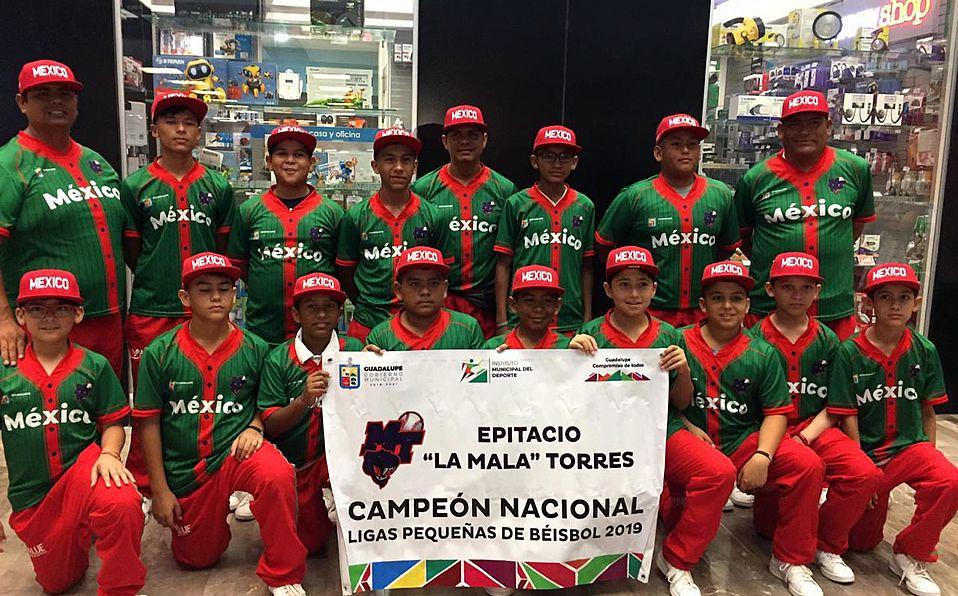 Equipo de México viajó a Serie Mundial de Ligas Pequeñas