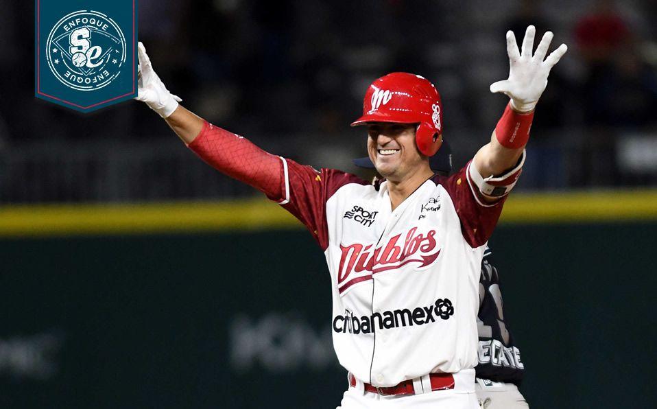 Cantú regresó a México para jugar en la LMB con Diablos Rojos. (Foto: Enrique Gutiérrez)