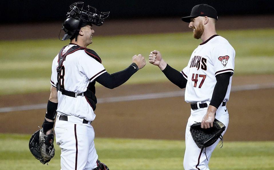 DBacks sorprende y le pega a los Dodgers. Foto: AP
