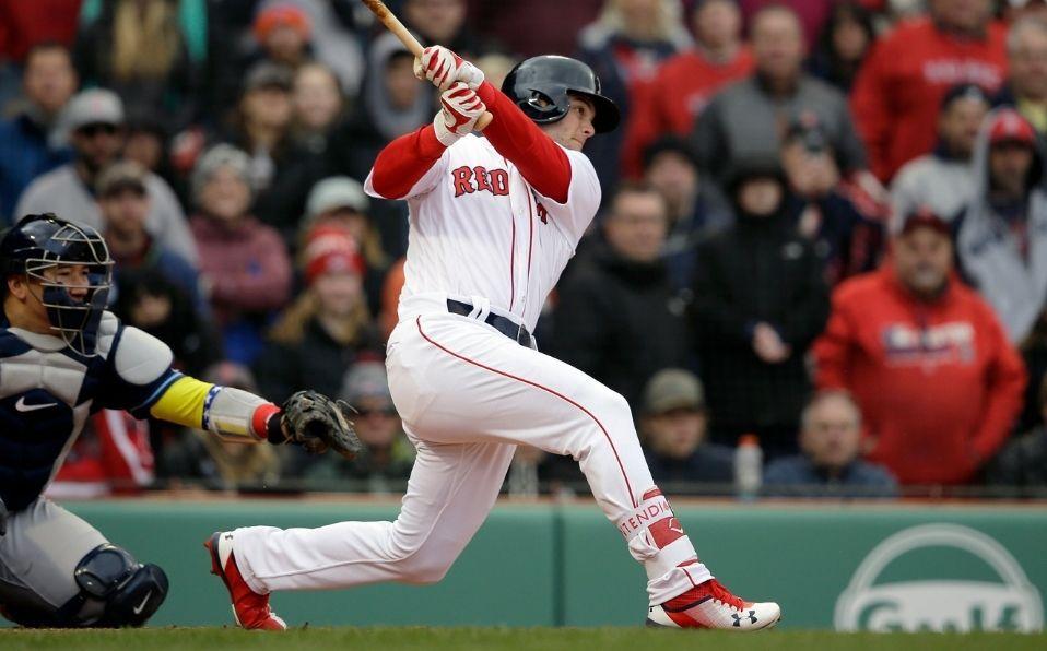 Benintendi fue desarrollado por los Red Sox a partir del Draft 2015. (Foto: AP)