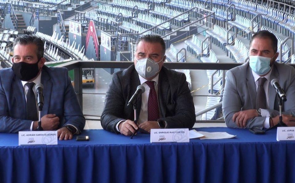 La conferencia fue presidida por el grupo de representantes legales del grupo de socios. (Foto: Cortesía)
