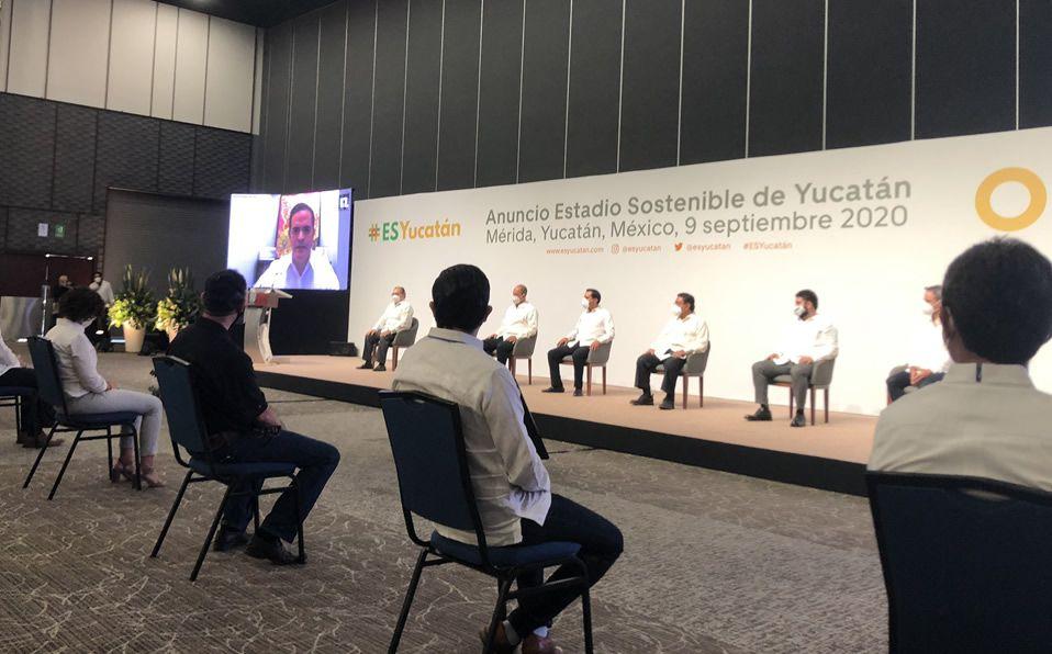 Quieren juegos de MLB en el nuevo estadio de Yucatán