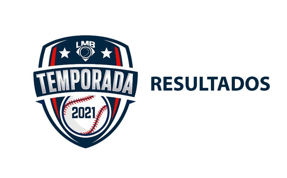 Resultados en la Liga Mexicana de Beisbol (LMB)