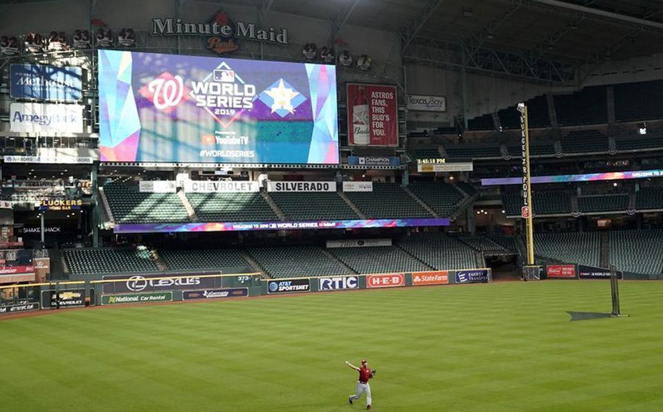 Los polémicos Astros abren sus instalaciones para volver a entrenar