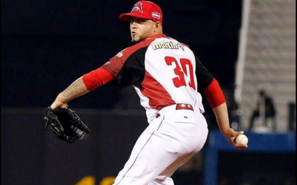 Medina no ha aceptado carrera en 17 juegos que ha relevado en el beisbol venezolano. (Foto: @LeonesOficial)