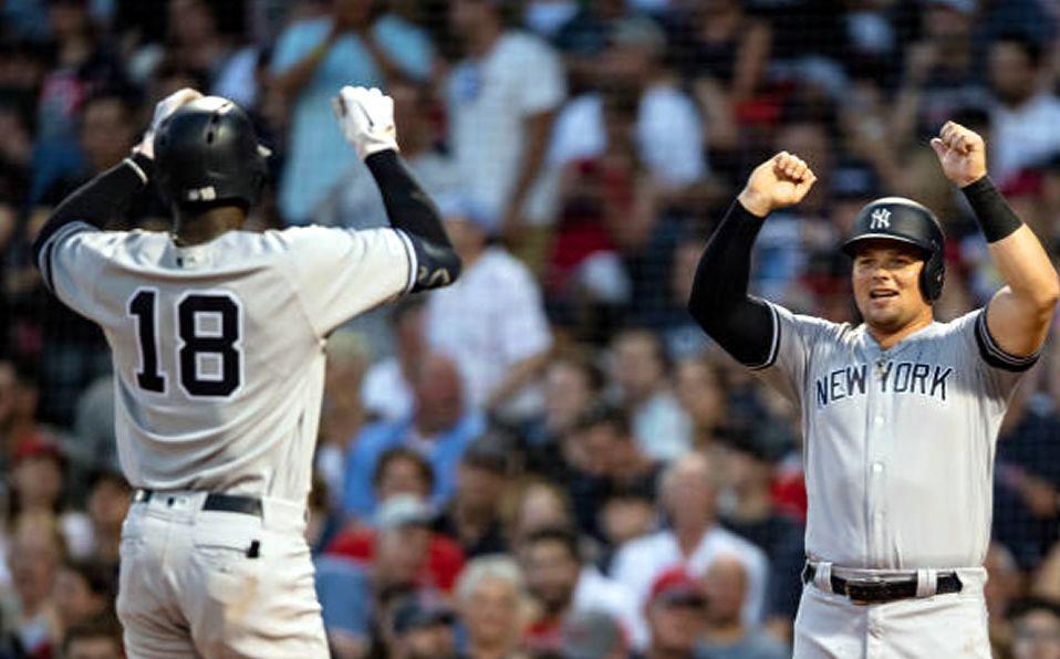 Los Yankees siguen dominando la serie anual por siete victorias a cuatro.