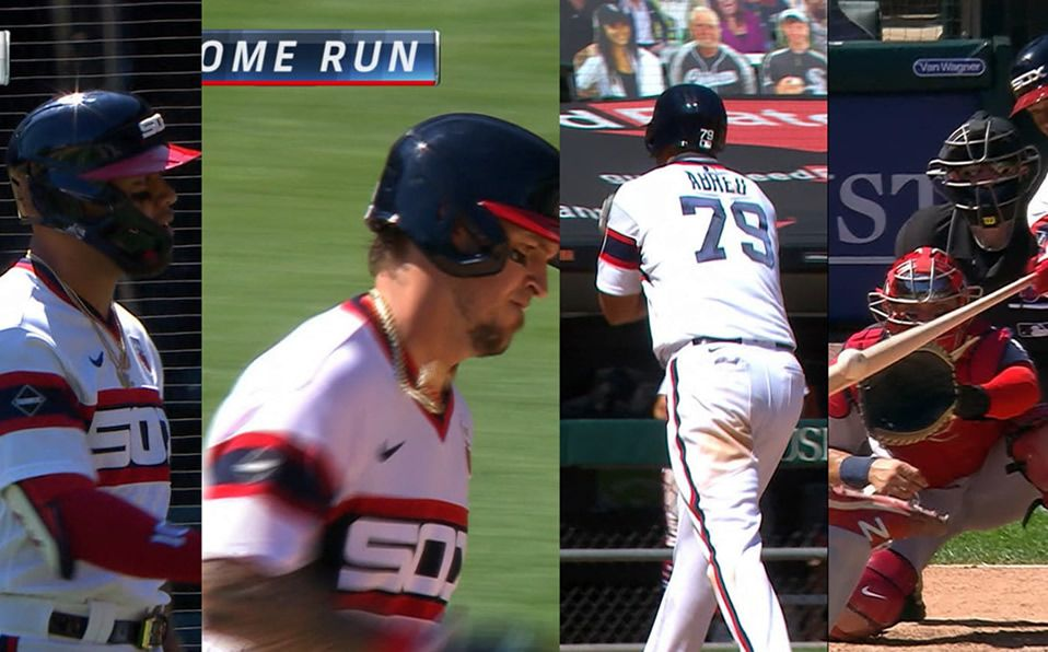 Los cuatro home runs fueron de bates latinos. (Foto: MLB.com)