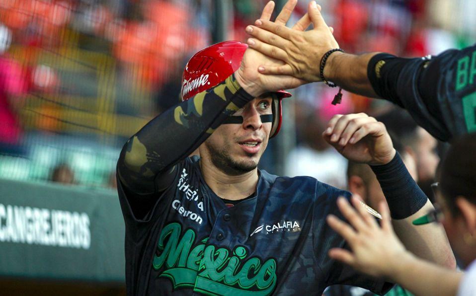 México tuvo una reacción ofensiva en la novena entrada para quitarse la blanqueada. (Foto: @clubtomateros)