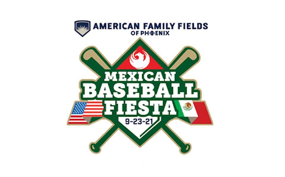 El logo de la Mexican Baseball Fiesta